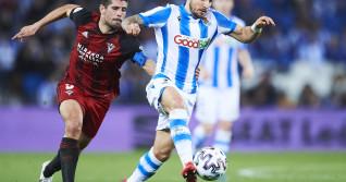 Real Sociedad v Mirandes - Copa del Rey: Semi-Final 1st Leg