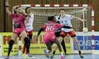 HANDBAL FEMININ: HCM BAIA MARE-FLEURY LLORET, LIGA CAMPIONILOR EHF (10.01.2016)