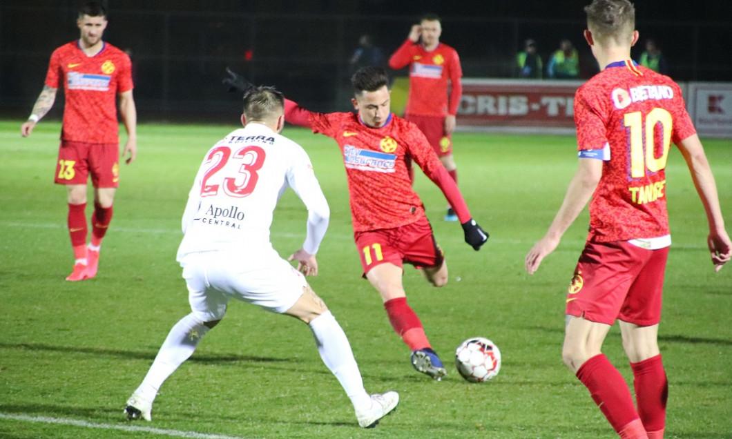 FOTBAL:AFC HERMANNSTADT- FCSB, SFERTURI, CUPA ROMANIEI (5.03.2020)