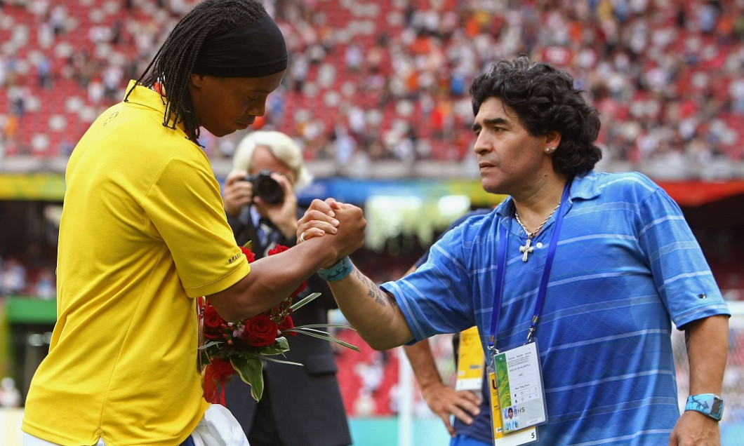 Ronaldinho Maradona