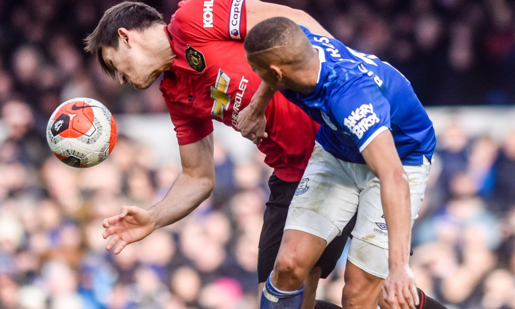 Everton FC vs Manchester United FC, Premier League, Football, Goodison Park, Liverpool, UK. 01.03.20