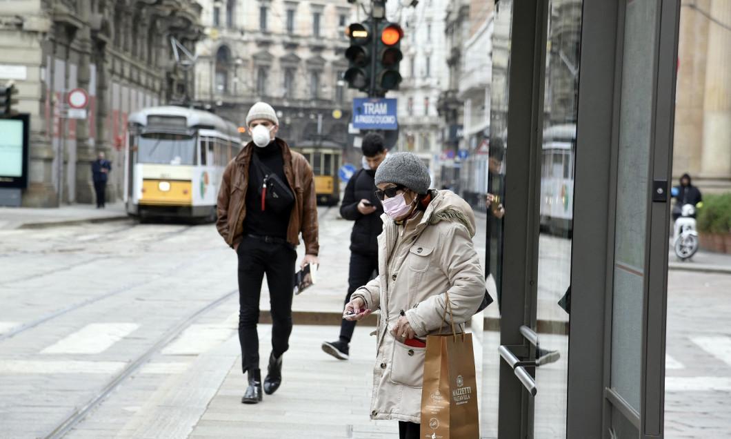 Coronavirus - Milan Deserted