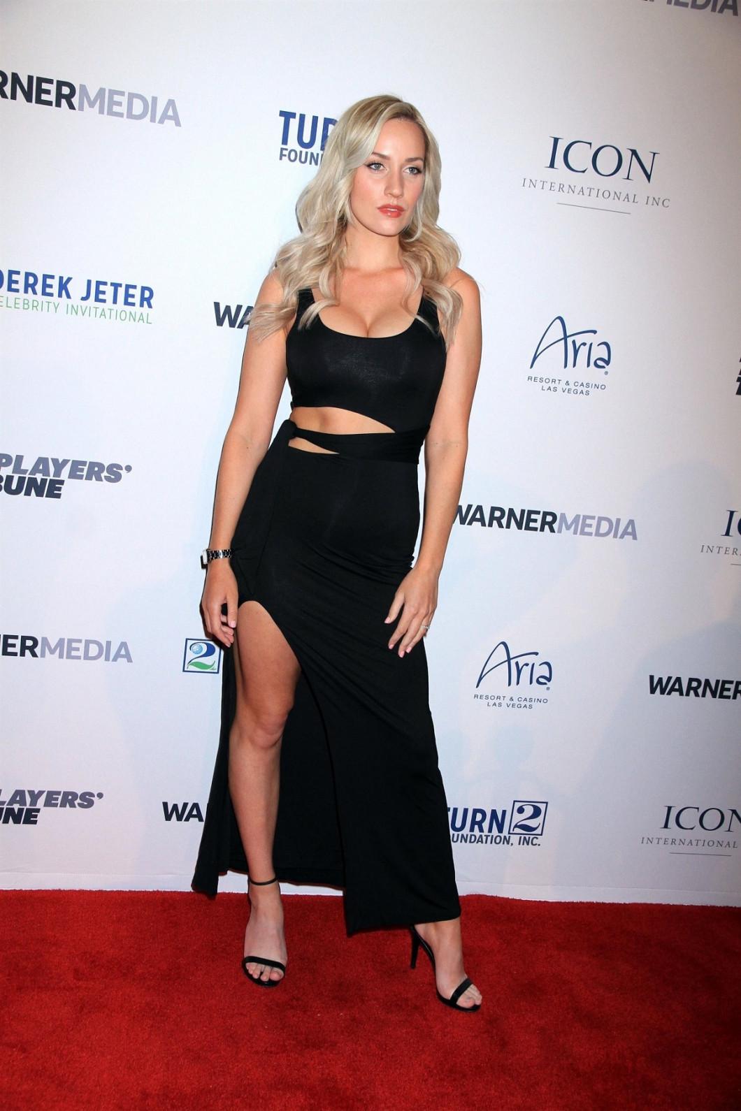 Guest arrivals for the 2019 Derek Jeter Celebrity Invitational Gala in Las Vegas