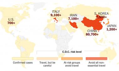 coronavirus map ny times