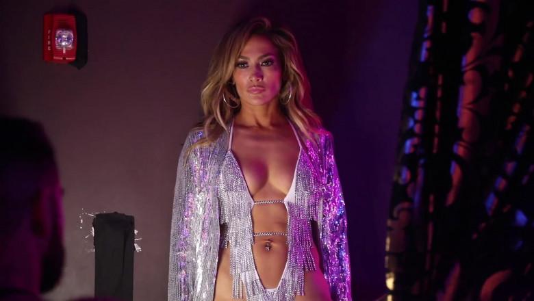 Jennifer Lopez conquering pole dancing