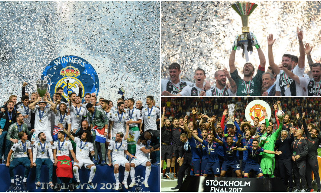 real madrid juventus manchester united