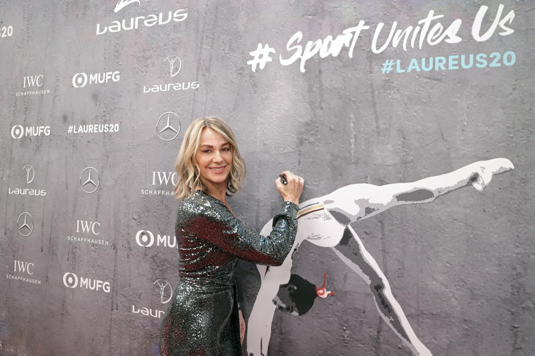 Red Carpet - 2020 Laureus World Sports Awards - Berlin