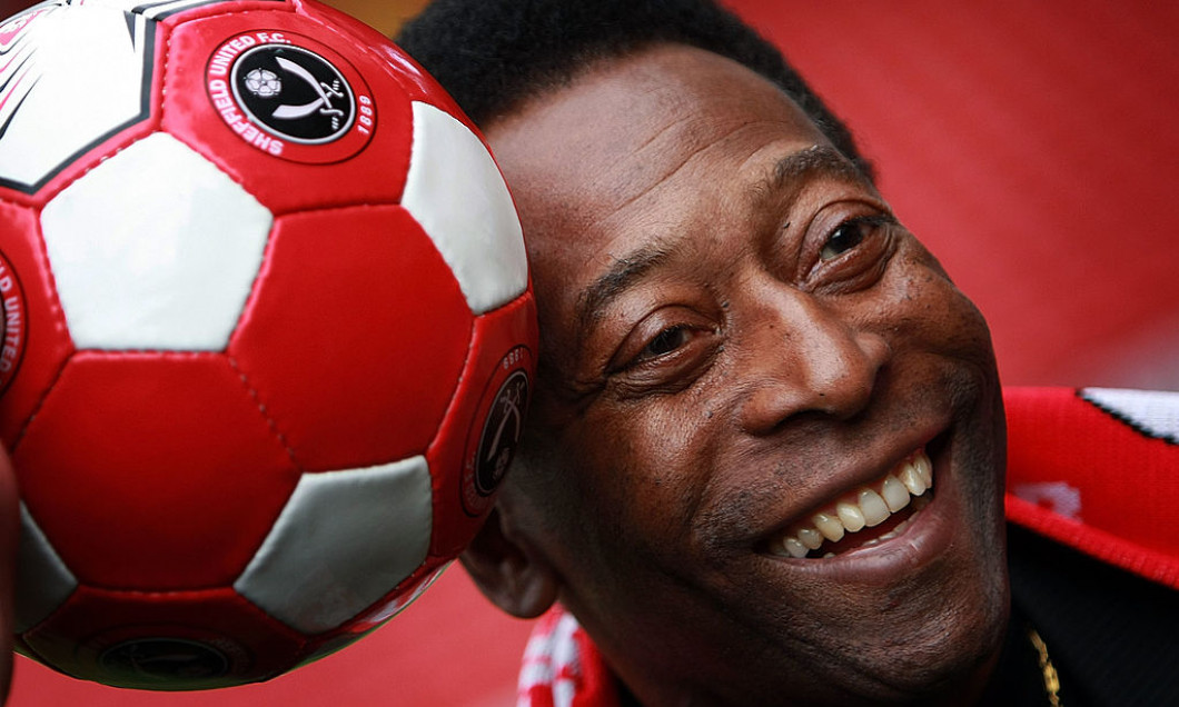 Pele Attends Ceremony For World's Oldest Football Club