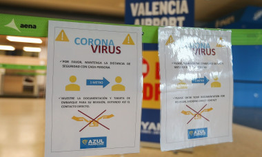 Coronavirus outbreak, Madrid - 19 Mar 2020
