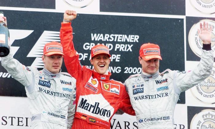 FORMEL 1: GP von EUROPA 2000