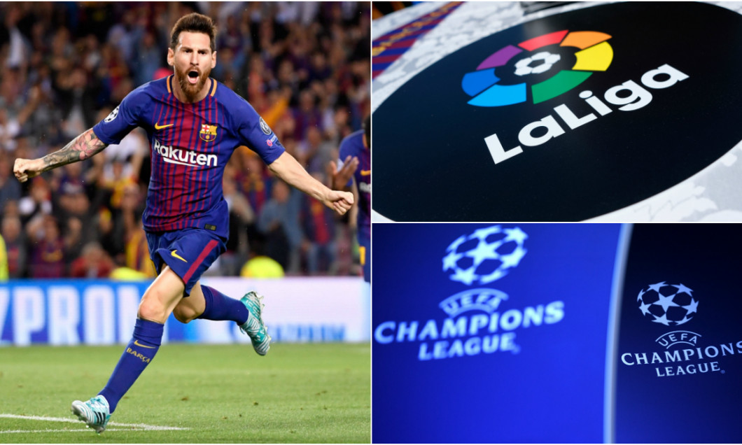 messi champions league la liga