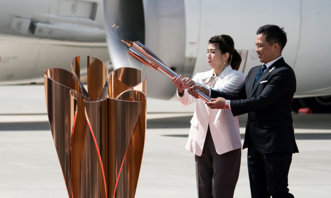 Tokyo 2020 Olympic Torch Arrives Japan
