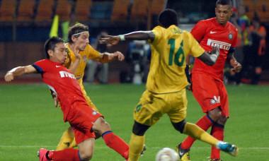 2.FOTBAL:FC VASLUI-INTERNAZIONALE MILANO 0-2,PLAY OFF EUROPA LEAGUE (23.08.2012)