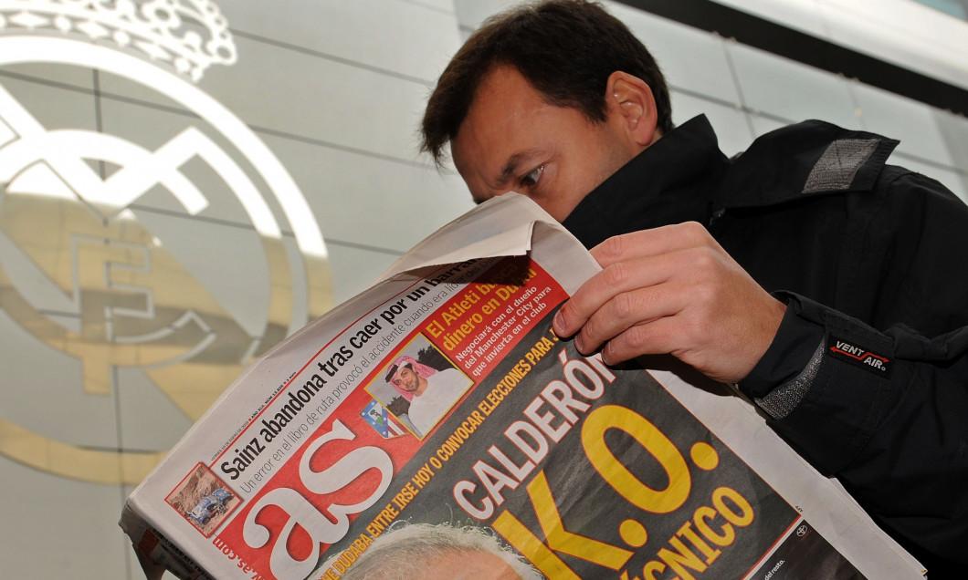 Ramon Calderon Resigns as Real Madrid President