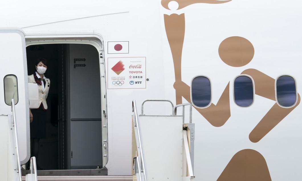 Tokyo 2020 Olympic Flame Arrives Japan