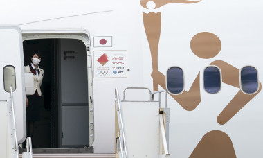 Tokyo 2020 Olympic Flame Arrives Japan