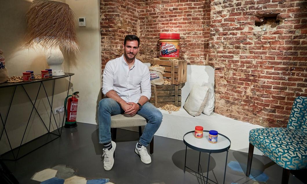 'Capitan Mani' Peanut Butter presentation, The Box, Madrid, Spain - 08 May 2018