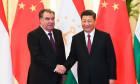 Tajikistan's President Emomali Rahmon Meets China's President Xi Jinping