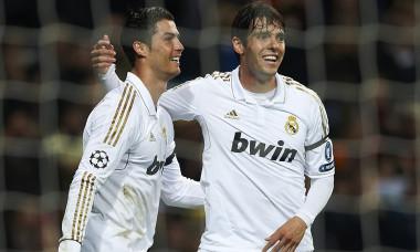 Cristiano Ronaldo real madrid kaka
