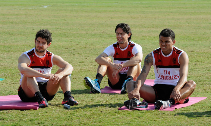 AC Milan Training Session