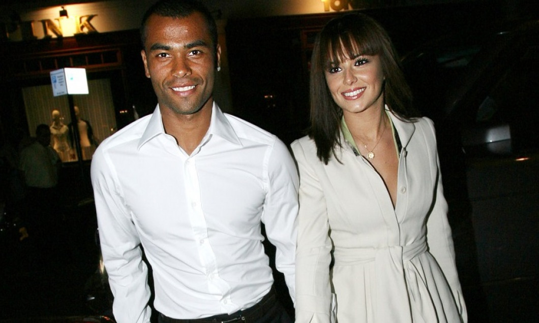 **UK OUT** Ashley and Cheryl Cole at Cipriani restaurant in London