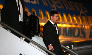 The Argentina Team Arrives in Belo Horizonte - 2014 FIFA World Cup
