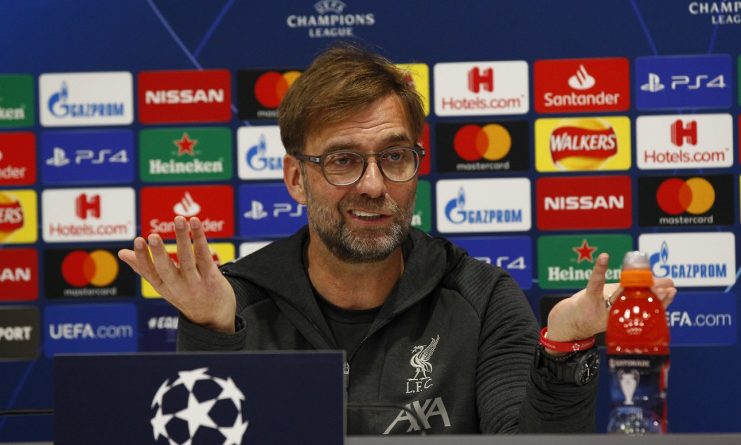 Liverpool v Atletico Madrid, Football, Press Conference and Training, Anfield, UK - 10 Mar 2020