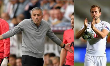 Jose Mourinho și Harry Kane