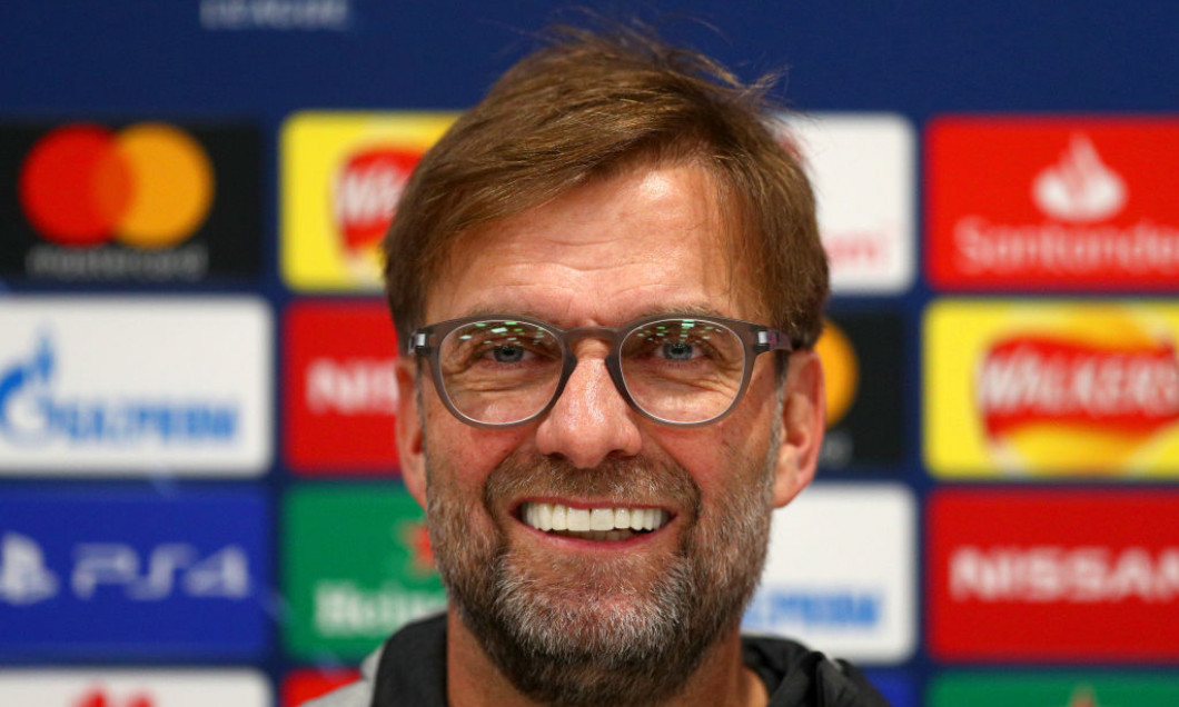 Liverpool FC Press Conference And Training Session