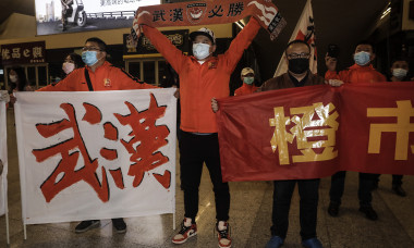 Wuhan Zall Football Club Return Home After 104 Days Wandering Tour