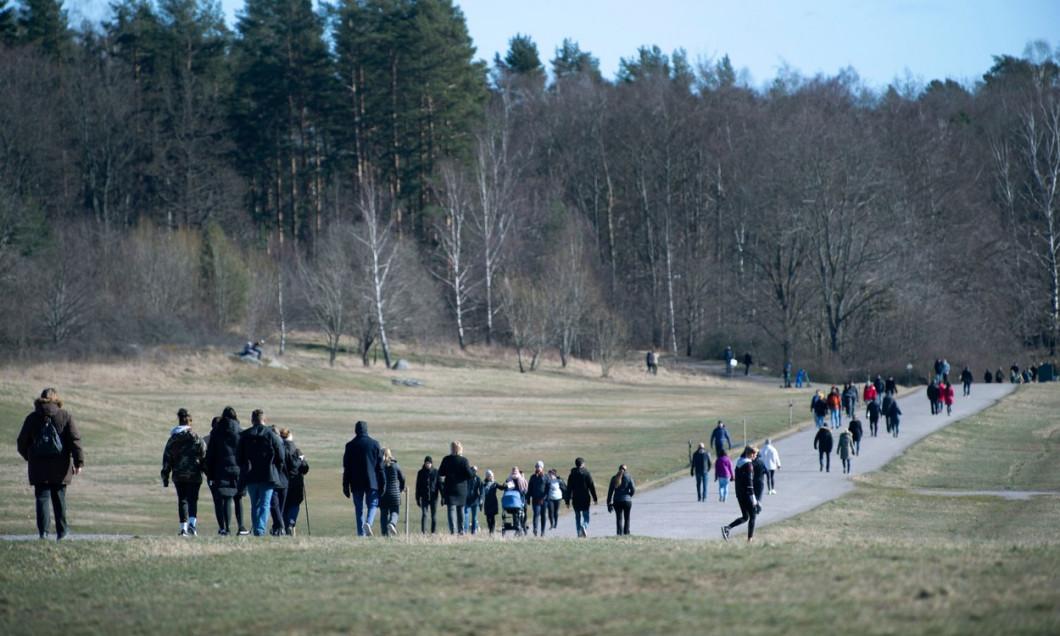 Seasonal weather, Stockholm, Sweden - 22 Mar 2020