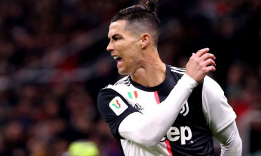 Cristiano Ronaldo of Juventus FC screams of anger during the