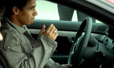 FOTBAL,AUTO:STEAUA BUCURESTI LA DRIVE TEST AUDI (22.03.2007)