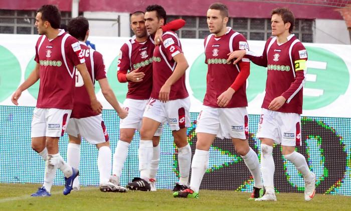 1.FOTBAL:RAPID BUCURESTI-FC UNIREA URZICENI 1-1,LIGA 1 (28.02.2010)