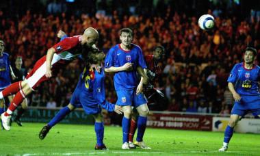 UEFA Cup Semi Final - Middlesbrough v Steaua Bucharest