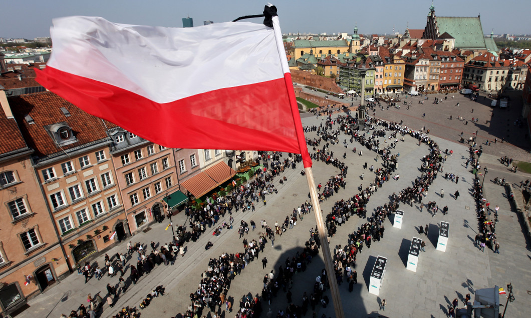 Warsaw Mourns Loss Of President
