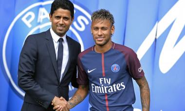 Nasser al-Khelaifi și Neymar