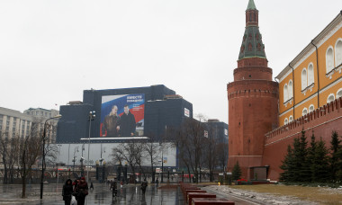 Moscow Prepares For Russian Elections