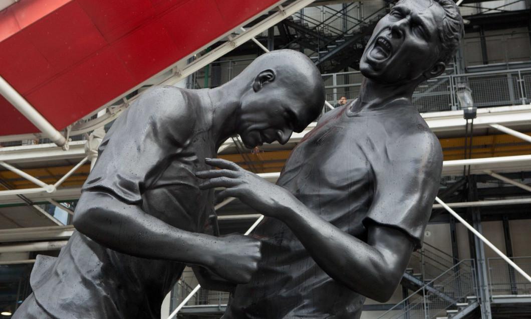PARIS: Zidane-Materazzi Head Butt sculpture by Adel Abdessemed