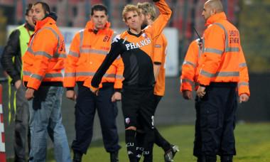 Mihai Neșu, în tricoul lui Utrecht / Foto: Getty Images.