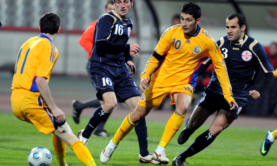 FOTBAL:ROMANIA-GEORGIA 2-1,AMICAL (19.11.2008)
