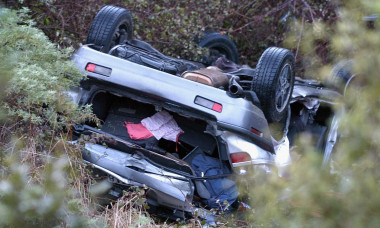 Vehicle Accident Victim Rescued After Four Days