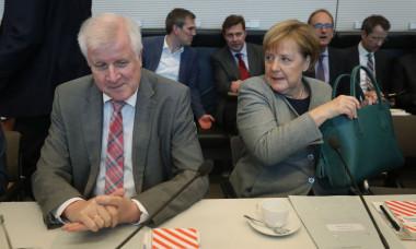 CDU/CSU Faction Meets As Bavarian Elections Loom