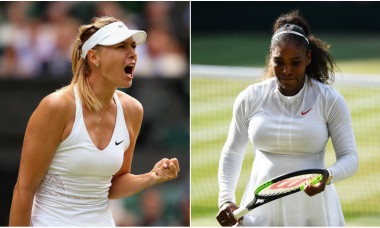 Maria Sharapova și Serena Williams