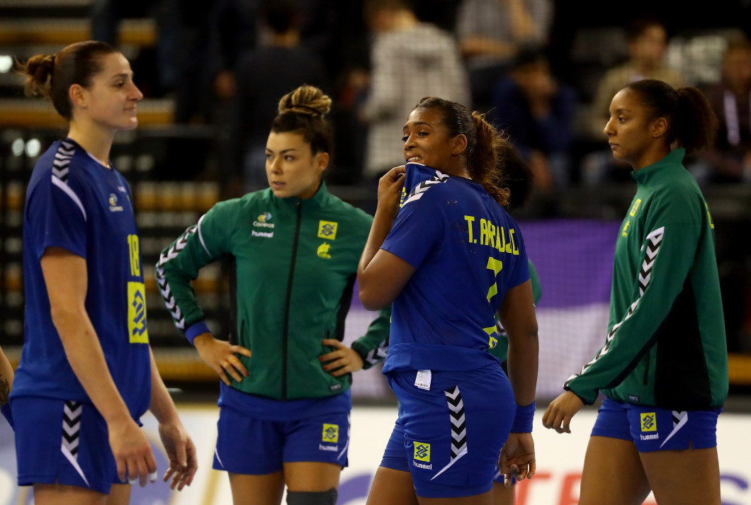Brazil v Montenegro - 2017 IHF Women's Handball World Championship Germany