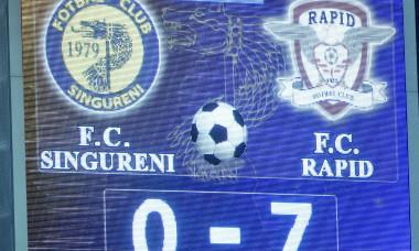 FOTBAL:AS SINGURENI-FC RAPID BUCURESTI, BARAJ LIGA 3 (16.06.2018)
