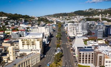 Aerials Of Wellington As NZ Prepares To Reduce Coronavirus Lockdown Restrictions