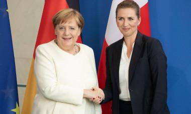 Mette Frederiksen Angela Merkel