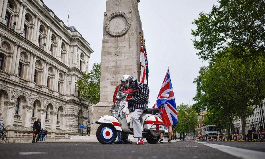 The UK's VE Day 75 Celebrations Take Place Amid Coronavirus Lockdown