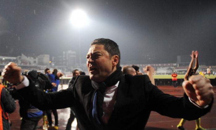 FOTBAL:DINAMO BUCURESTI-STEAUA BUCURESTI 1-3,LIGA 1 (5.12.2011)